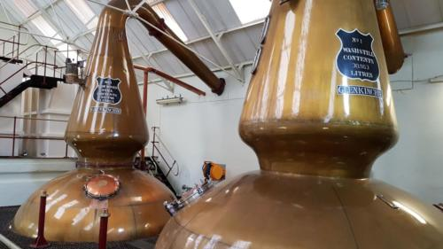 Glenkinchie Whisky Distillery Tour
